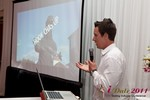 Chas McFeely (CEO of HookChasUp.com) at the June 22-24, 2011 Los Angeles Online and Mobile Dating Industry Conference