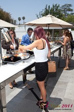 Lunch at the June 22-24, 2011 California Online and Mobile Dating Industry Conference