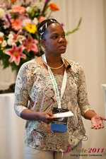 Robinne Burrell (Vice President at Match.com) at the 2011 California Online Dating Summit and Convention