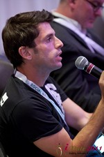 Joel Simkhai (CEO of Grindr) at the 2011 Los Angeles Online Dating Summit and Convention