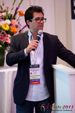 Tai Lopez (CEO of DatingHype.com) at the 2011 California Online Dating Summit and Convention