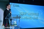Mark Brooks - Announcing Best Mobile Dating Site Winner for 2012 in Miami Beach at the January 24, 2012 Internet Dating Industry Awards