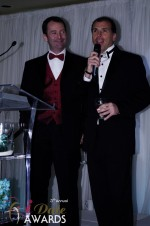 Mark Brooks and Marc Lesnick in Miami Beach at the 2012 Internet Dating Industry Awards
