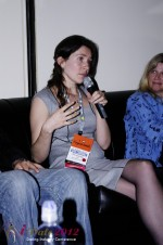 iDate2012 Dating Industry Final Panel - Tanya Fathers at iDate2012 Miami