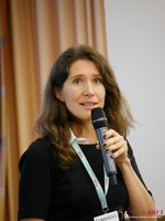 Tanya Fathers (CEO of Dating Factory) at the 2013 Cologne European Mobile and Internet Dating Summit and Convention