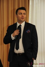 Maciej Koper (CEO of World Dating Company) at the 2013 Cologne European Mobile and Internet Dating Summit and Convention