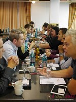 Speed Networking at the 2013 European Online Dating Industry Conference in Cologne
