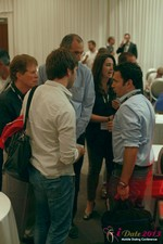 Networking at the 34th Mobile Dating Industry Conference in L.A.