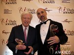 Dr. Warren & Paul Falzone at the 2013 iDate Awards