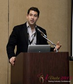 David Benoliel (VP of Avid Life Media) at the 2013 Las Vegas Digital Dating Conference and Internet Dating Industry Event