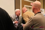 Dr. Neil Clark Warren (Founder and CEO of eHarmony) meeting other Dating Industry CEOs at the 2013 Las Vegas Digital Dating Conference and Internet Dating Industry Event