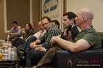 Sam Moorcroft (CEO of Christian Cafe) at the Final Panel at the January 16-19, 2013 Las Vegas Online Dating Industry Super Conference