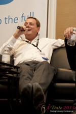 Max McGuire (CEO of RedHotPie) at the January 16-19, 2013 Las Vegas Internet Dating Super Conference