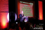 Sam Moorcroft announcing the Most Innovative Company at the 2013 Internet Dating Industry Awards in Las Vegas
