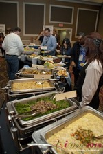 Lunch at the January 16-19, 2013 Internet Dating Super Conference in Las Vegas