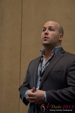 Pat Ness (President SMB Master) at the January 16-19, 2013 Las Vegas Online Dating Industry Super Conference
