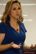 Rachel DeAlto (The Flirt Expert) at iDate2013 Las Vegas