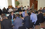 Speed Networking among Dating Industry Executives  at the September 8-9, 2014 Köln European Online and Mobile Dating Industry Conference