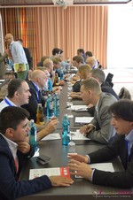Speed Networking Among Dating Industry Executives  at the September 7-9, 2014 Mobile and Online Dating Industry Conference in Germany