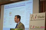 Mark Brooks from Online Personals Watch, 10th Annual State of the European Dating Industry  at iDate2014 Germany