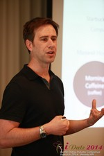 Author Neal Cabage Of The Smarter Startup at the 2014 California Mobile Dating Summit and Convention