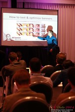 Axel Vezina, Chief Analytics Officer For Crak Media On Best Strategies For Mobile Dating Conversions  at the 2014 Online and Mobile Dating Business Conference in California