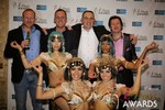 The Crew from Britian  at the 2014 Internet Dating Industry Awards Ceremony in Las Vegas