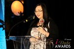 Michelle Li of Successful Match (Winner of the DatingWebsiteReview.net Award for Best New Feature) at the 2014 iDateAwards Ceremony in Las Vegas