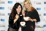 Marcella Romaya & Sheri Grande (Gluten Free Desert @ iDate) at the 2014 Las Vegas iDate Awards