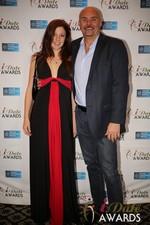 Tatyana Seredyuk & Sean Kelley  at the 2014 Las Vegas iDate Awards Ceremony