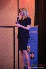 Dr. Wendy Walsh - Reporter @ CNN at iDate Expo 2014 Las Vegas
