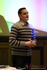 Israel Irenstein - IDCA Program Director at the January 14-16, 2014 Las Vegas Internet Dating Super Conference
