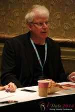 Dr. David Buss at the 2014 Las Vegas Digital Dating Conference and Internet Dating Industry Event