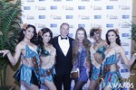 Ken Agee and Svetlana Mucha at the 2015 Las Vegas iDate Awards Ceremony