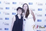 Irena Stepanova and Elena Kolyasnikova at the 2015 Internet Dating Industry Awards in Las Vegas