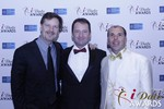 eHarmony's Grant Langston with Mark Brooks and Marc Lesnick at the 2015 iDateAwards Ceremony in Las Vegas