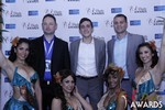 Media Wall at the 2015 iDate Awards Ceremony