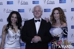 Natacha Noel, Mark Owen and  at the 2015 Las Vegas iDate Awards
