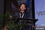 Brandon Wade of Verified by Cam  - Winner of Best New Technology at the January 15, 2015 Internet Dating Industry Awards Ceremony in Las Vegas