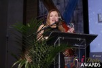 Genevieve Zawada and Sarah Ryan - CEO of ElectClub at the 2015 Internet Dating Industry Awards Ceremony in Las Vegas