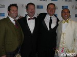 Michael O'Sullivan, Mark Brooks, Max McGuire and Marc Lesnick at the 2015 iDateAwards Ceremony in Las Vegas