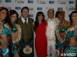 Michael O'Sullivan and Julie Spira at the 2015 iDate Awards