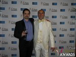 Arthur Malov and Marc Lesnick at the January 15, 2015 Internet Dating Industry Awards Ceremony in Las Vegas