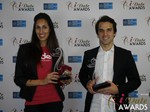 Tinder and Match.com - Winner of Best Mobile Dating App and Best Dating Site at the 2015 iDateAwards Ceremony in Las Vegas