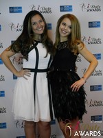 Jennifer Gonzales and Ana Reed-Davies at the 2015 iDate Awards