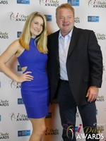 Media Wall at the 2015 iDateAwards Ceremony in Las Vegas held in Las Vegas
