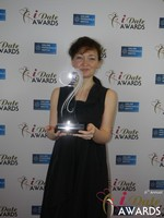 Irina Stepanova from PG Dating Pro - Winner of Best Dating Software & SAAS at the January 15, 2015 Internet Dating Industry Awards Ceremony in Las Vegas