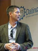 Justin Parfitt - CEO of HeyLets at the 2015 Internet Dating Super Conference in Las Vegas