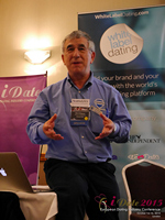 Dave Wiseman Vice President Of Sales And Marketing Speaking To The European Dating Market On Scam Detection Technology at the 2015 Euro Online Dating Industry Conference in London