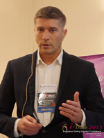 Hristo Zlatarsky CEO Elitebook.bg With Insights On The Bulgarian Mobile And Online Dating Market at the 2015 Euro Online Dating Industry Conference in London